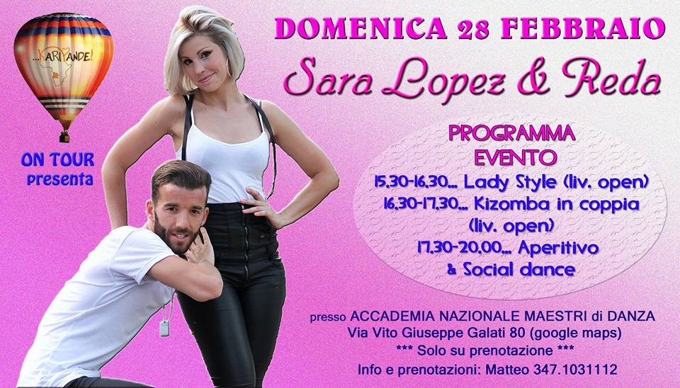 Stage Sara Lopez - Reda 28 gennaio 2016