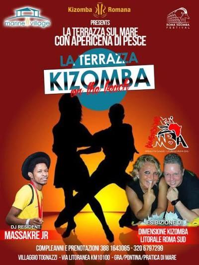 Kizomba on The Beach - Sabato 27 agosto 2016 - La Terrazza - Marine Village