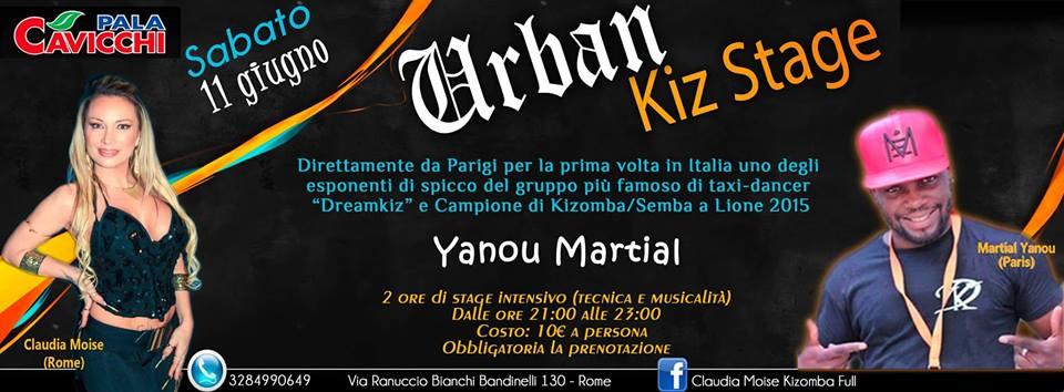 Stage Urban Kiz Stage - Sabato 11 giugno 2016 - Terrazze Palacavicchi
